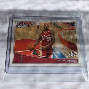 LeBron James '09 Topps Card